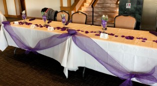 Head Table Decor Opening Day 2019