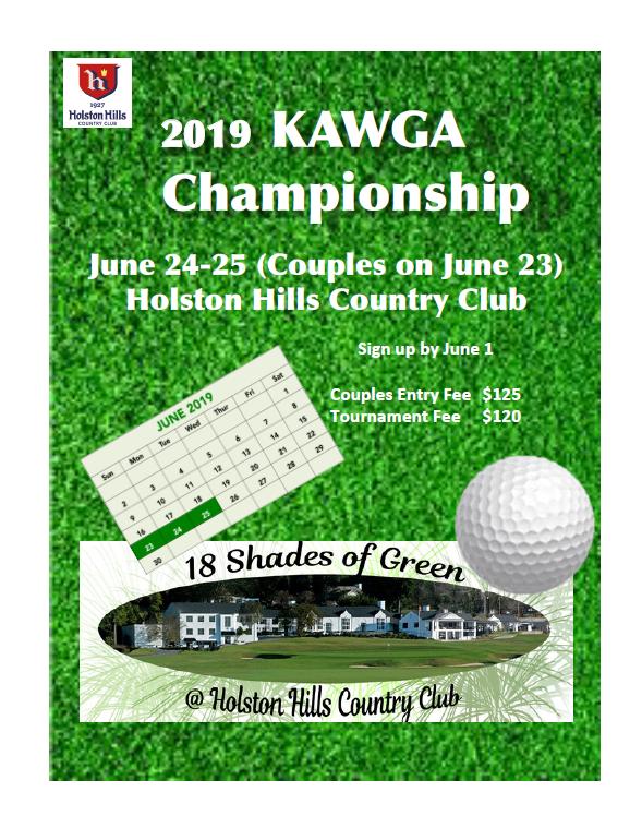 KAWGA 2019 Championship Flyer