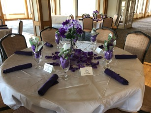 Table Decor Opening Day 2019