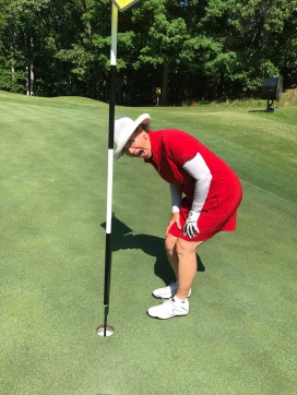 Kathryn Ward Hole in One