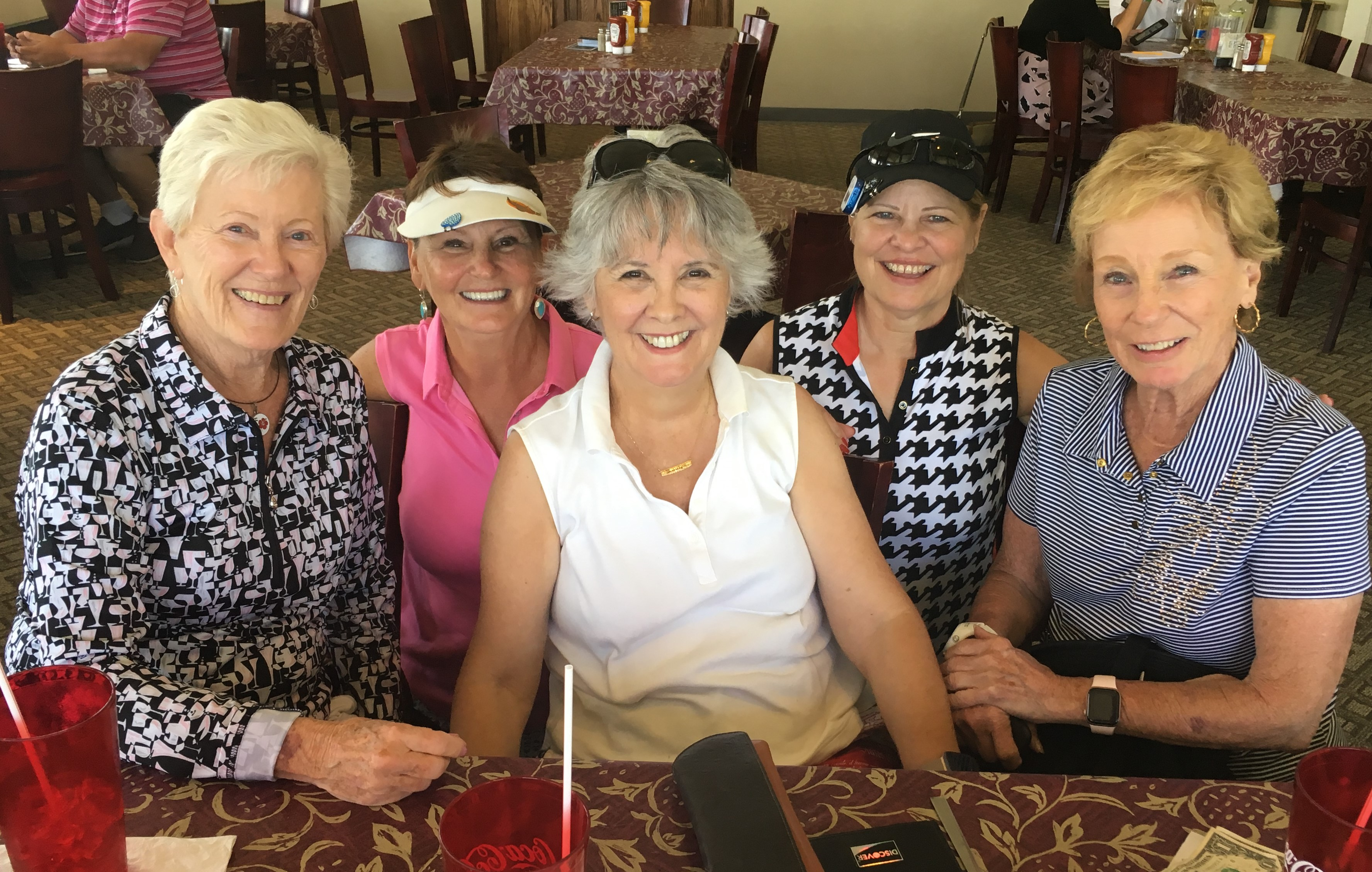 Gwen's visit July 2019