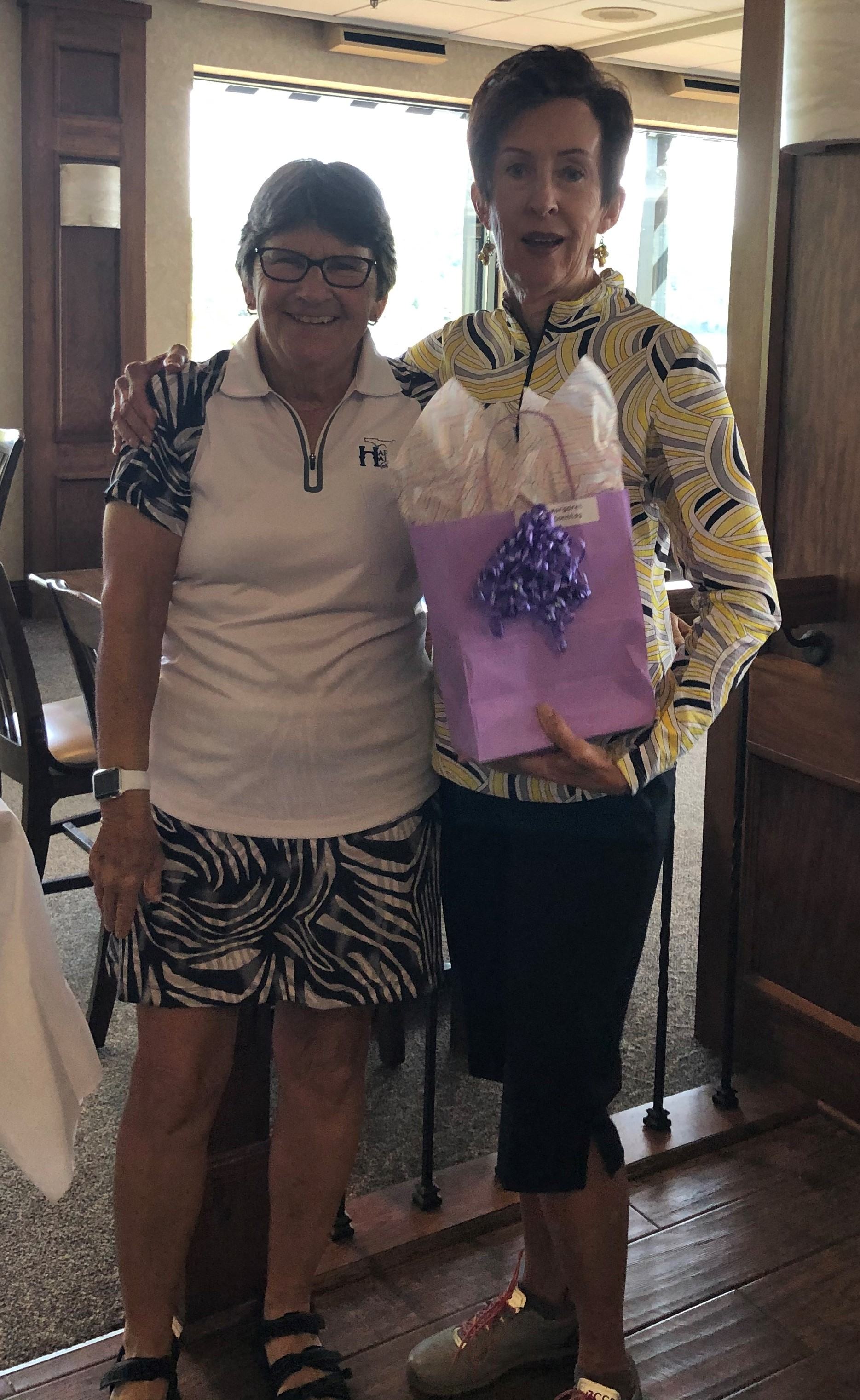 Margaret Sonntag - League Champ Overall Low Gross Yellow