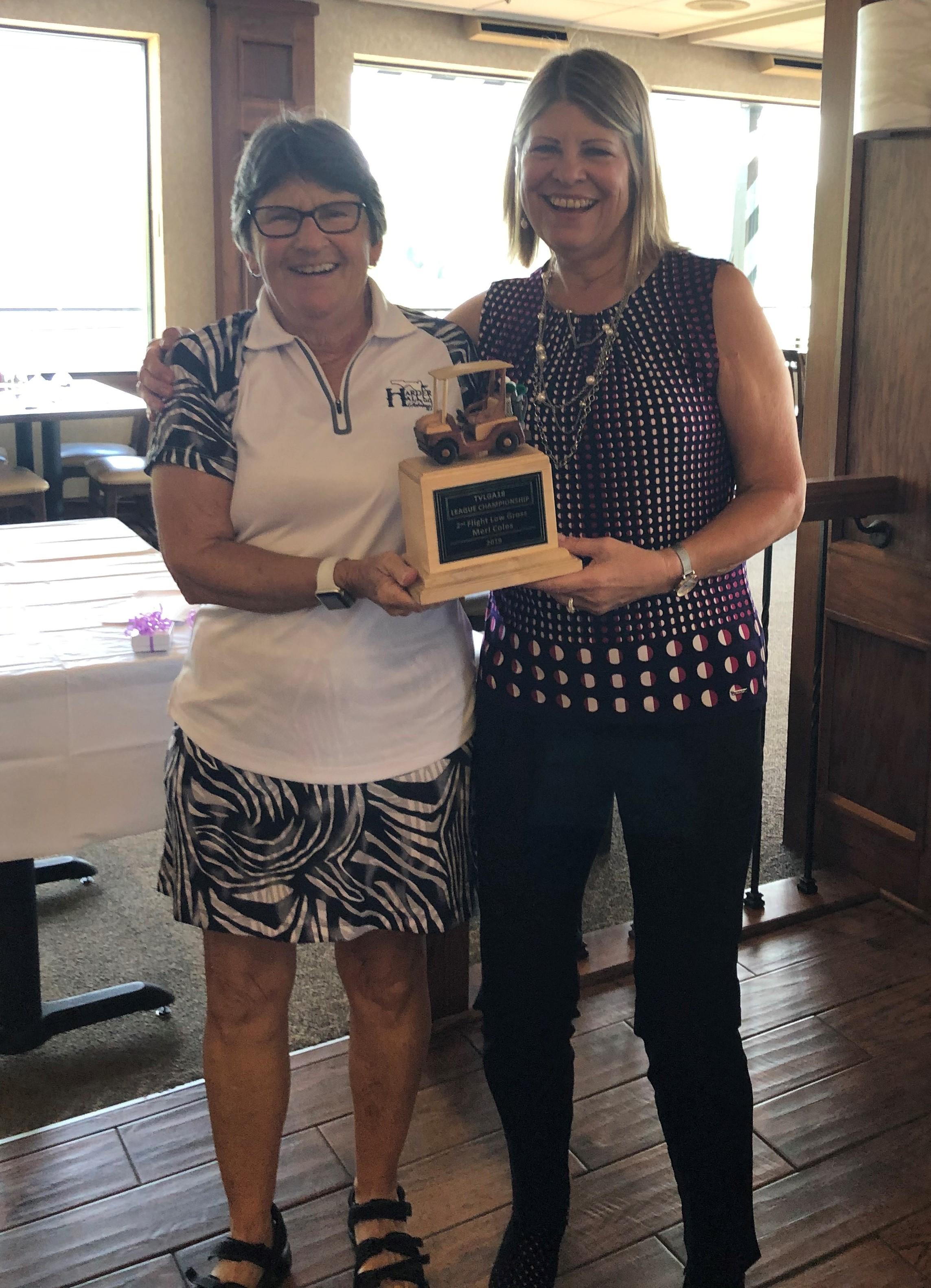 Meri Coles - League Championship Award