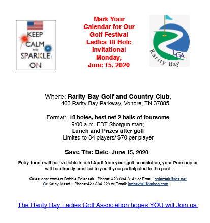Rarity Bay Invitational Tournament 2020